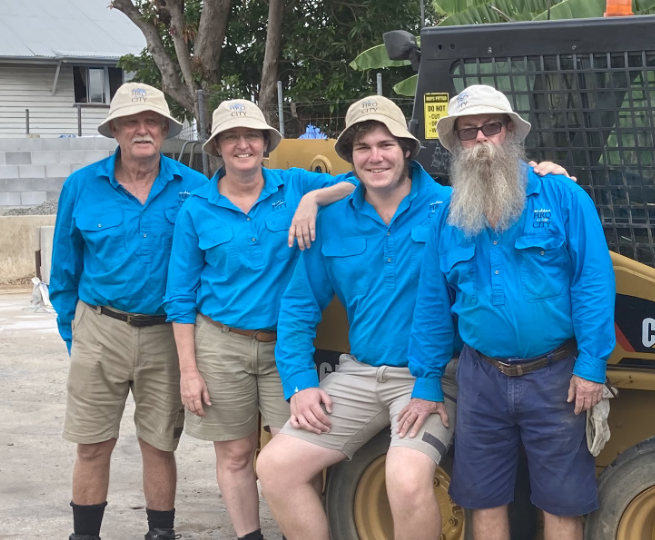 HRQ in the City Maryborough garden supplies team members