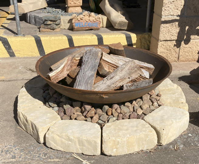 fire pits, quarry products, pavers and garden edging and much more